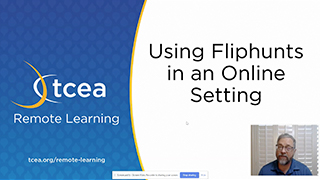 Using Fliphunts in an Online Setting