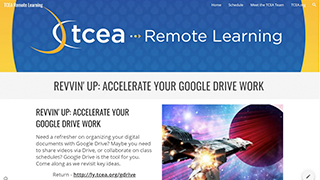 Revvin' Up: Accelerate Your Google Drive Work