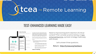 Test-Enhanced Learning Made Easy
