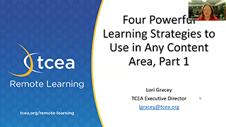 Four Powerful Learning Strategies to Use in Any Content Area, Part 1