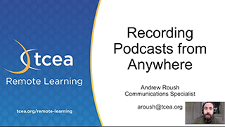 Recording Podcasts from Anywhere