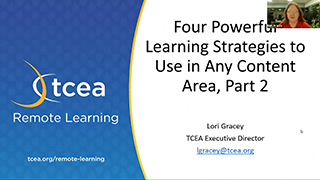 Four Powerful Learning Strategies to Use in Any Content Area, Part 2