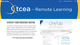 Simplify Your Browser: OneTab